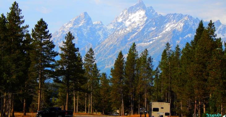 Acampando no território dos ursos – Grand Teton National Park