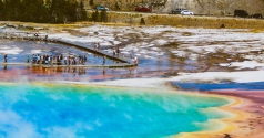 Acampando no Yellowstone National Park