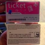 Metro Ticket Brussels