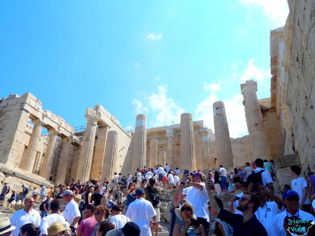 Entrada da Acrópole