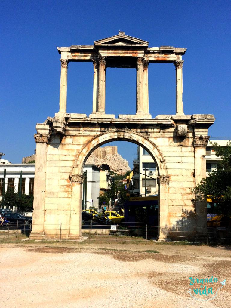 Pórtico do Templo de Zeus