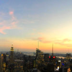 Sunset at Top of the Rock, New York