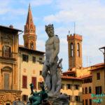 Netuno Piazza della Signoria - Palazzo Vecchio