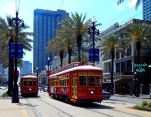 Street Car New Orleans Louisiana