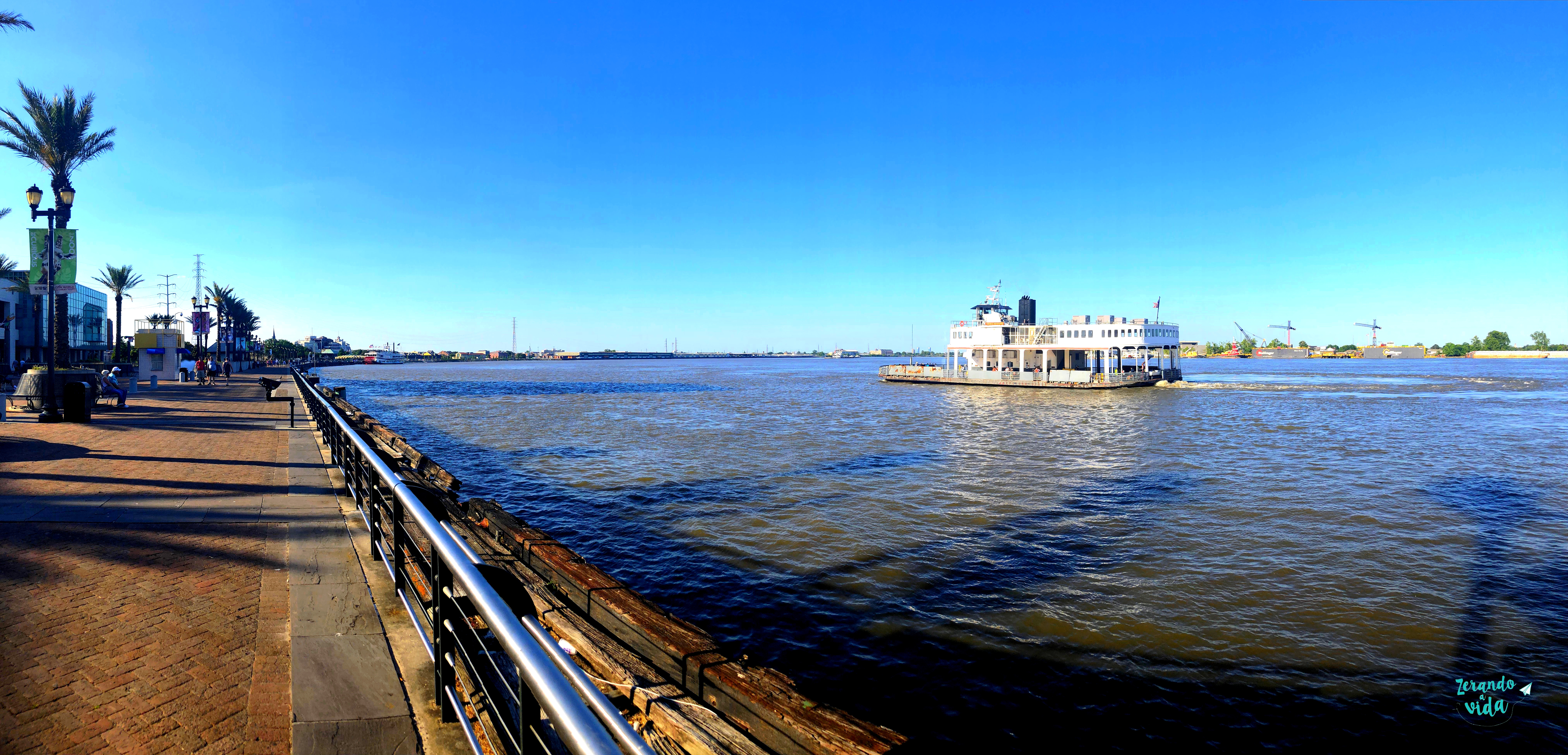 Mississippi river New Orleans Louisiana